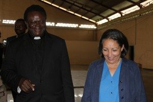 UNICEF Country Representative visit to Peace Centre Elele