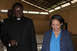 UNICEF Country Representative visit to Peace Centre Elele